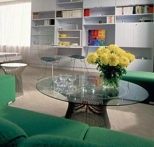 Platner Coffee Table Modern Furniture Houston Texas