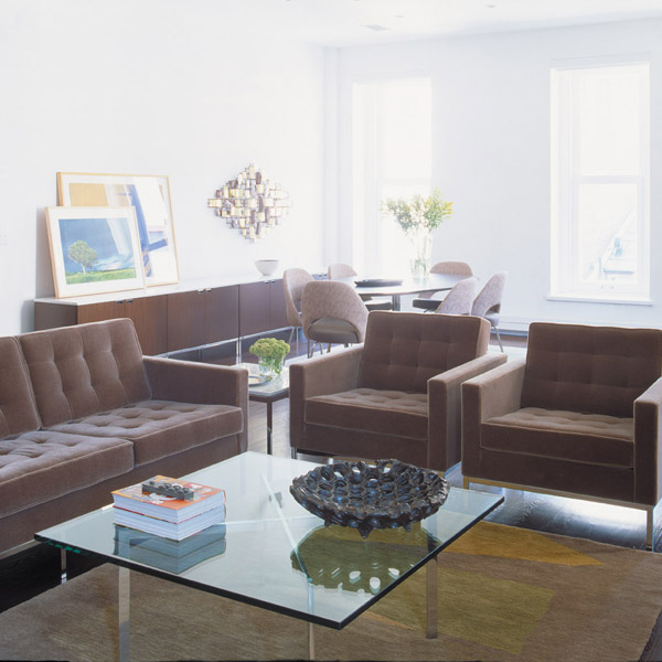 Barcelona Table Modern Furniture Houston Texas