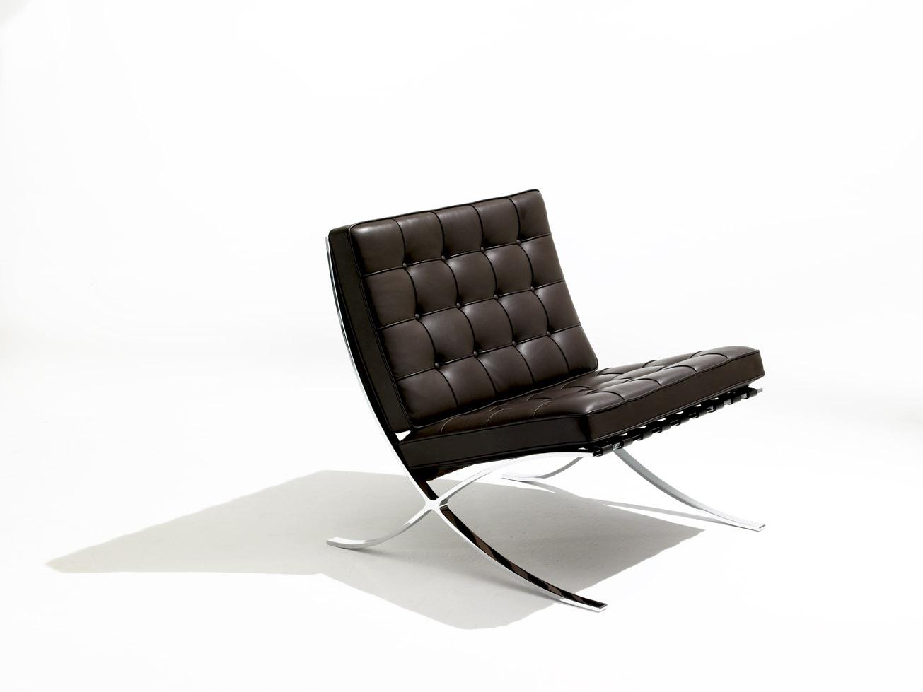 Knoll barcelona chair modern furniture houston texas - Movimiento moderno ...