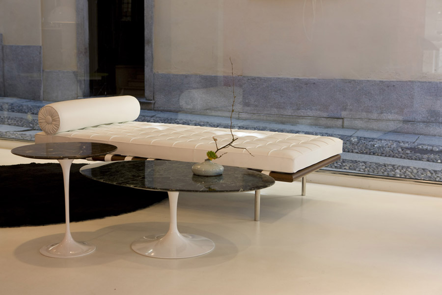 Saarinen Side Tables Modern Furniture Houston Texas