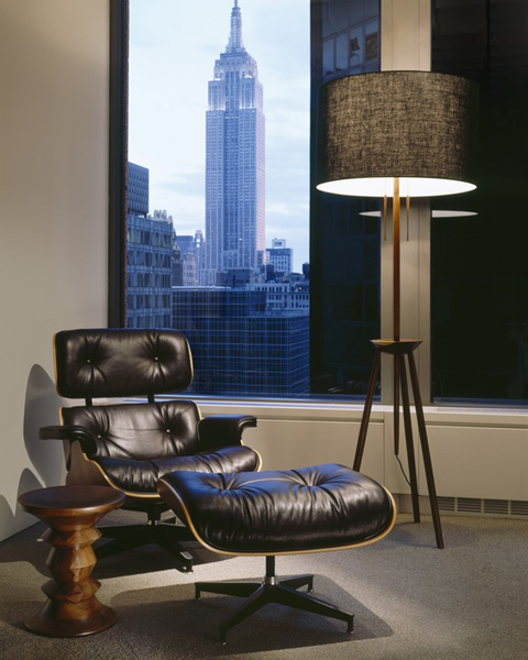 Office Furniture Houston Tx Painting: Eames Lounge Chair And Ottoman